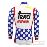 Retro Team Teka Long Sleeve Cycling Jersey By Online Cycling Gear