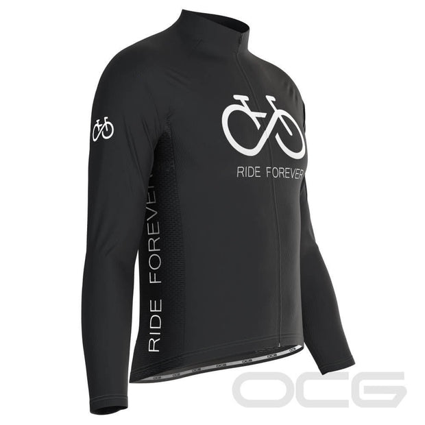 Men's Ride Forever Infinity Long Sleeve Cycling Jersey