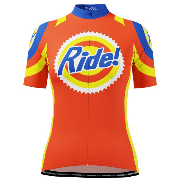 Women's Ride The Tide Short Sleeve Cycling Jersey