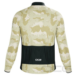 Men's Soldiers of Fortune Camo Long Sleeve Cycling Jersey