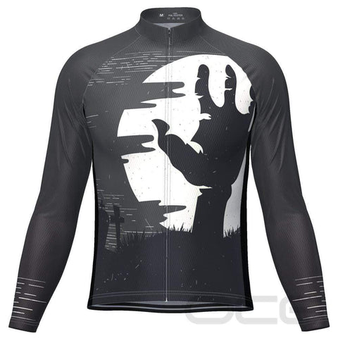 The Hand of Death Long Sleeve Cycling Jersey By OCG Originals