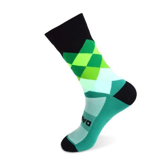 DV Unisex Diamonds Pro Cycling Socks - Online Cycling Gear