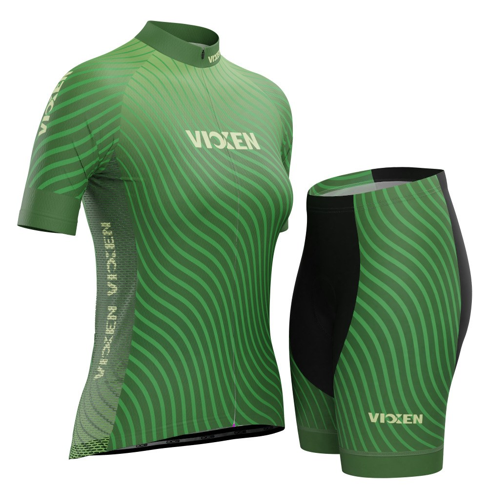 Vixen Women's Four Seasons Spring Short Sleeve Cycling Kit