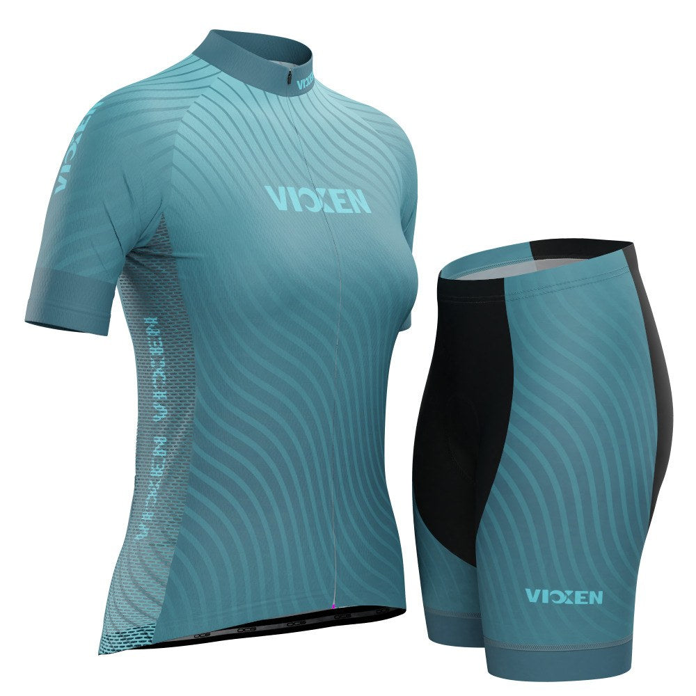 Vixen Women's Four Seasons Winter Short Sleeve Cycling Kit