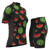 Women's Watermelon Short Sleeve Cycling Kit