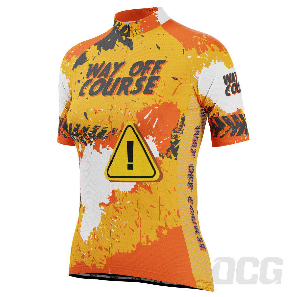 Women's Way Off Course Short Sleeve Cycling Jersey