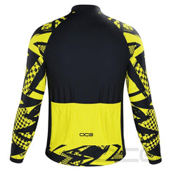 Men's Wild Tiger Long Sleeve Cycling Jersey