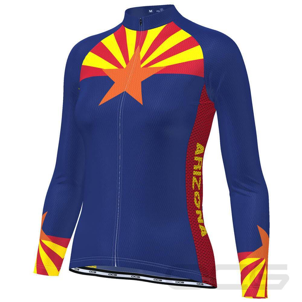 Women's Arizona State Long Sleeve Cycling Jersey