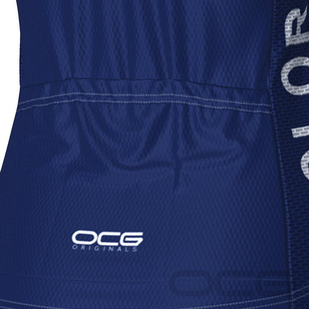 Women's Colorado USA State Short Sleeve Cycling Jersey By OCG Originals