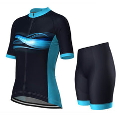 Women's Cosmos Blue Cycling Pro-Band Kit By OCG Originals