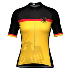 Women's Germany Deutschland National Cycling Jersey By OCG Originals