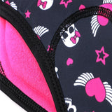Women's Hearts and Skulls Padded Cycling Briefs By Online Cycling Gear