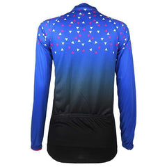 Women's Long Sleeve Confetti Cycling Jersey By Online Cycling Gear