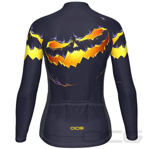 Women's Purple Pumpkin Eater Long Sleeve Jersey By OCG Originals