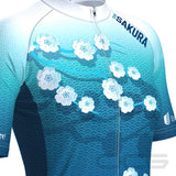 Women's Team Sakura Short Sleeve Cycling Jersey By OCG Originals