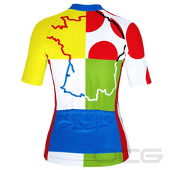 Women's Tour de France Leaders KOM Sprinters Jersey By Online Cycling Gear