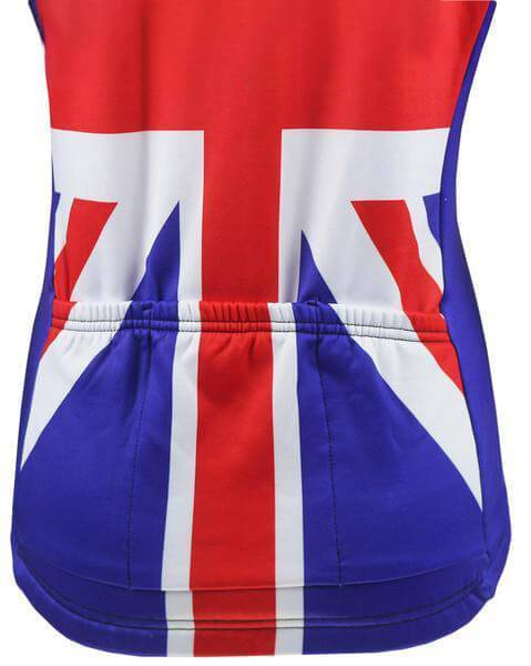 Women's Union Jack Long Sleeve Cycling Jersey By Online Cycling Gear