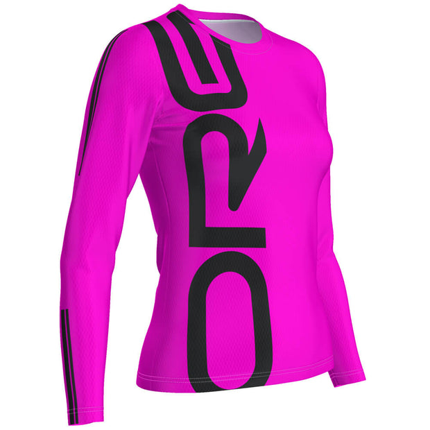 ORG Neon Women's Long Sleeve Performance Shirt