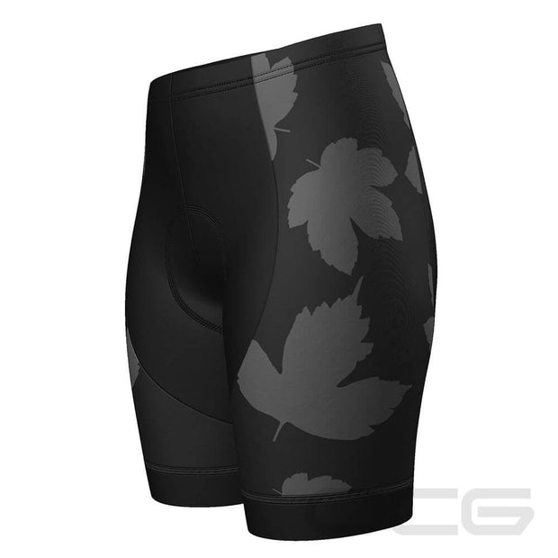 Women's Leaves Nature Pro-Band Cycling Shorts