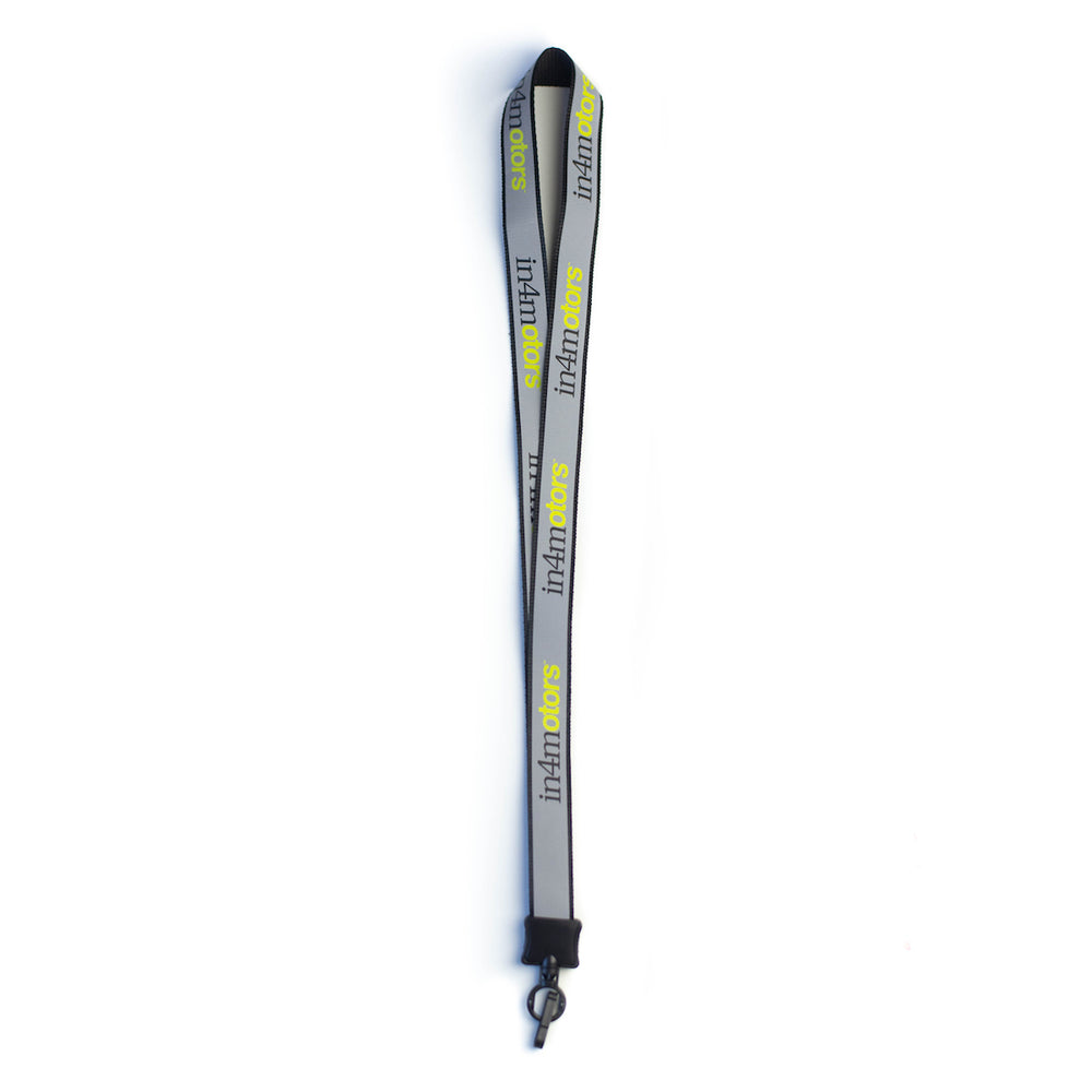 IN4MOTORS LANYARD (BLACK/3M)