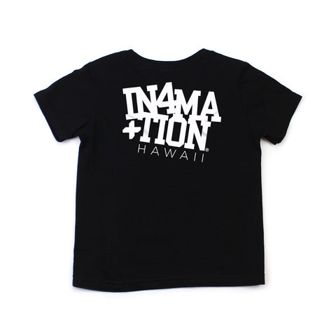 IN4MKIDS - COLLEGE HAWAII KIDS TEE (BLACK/WHITE)