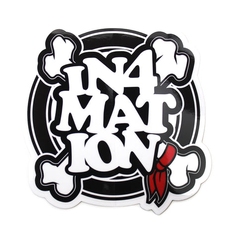IN4MATION - FYI OG STICKER 5""