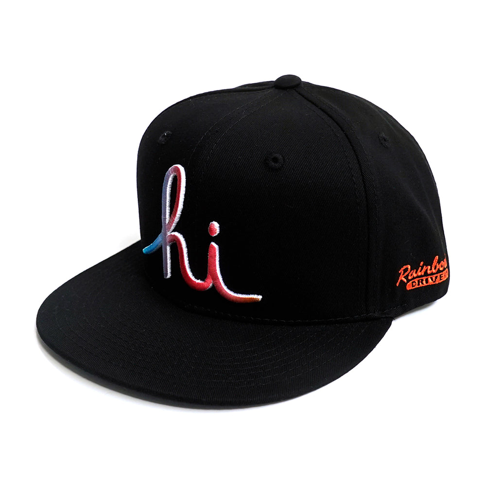 IN4MATION X RAINBOW DRIVE IN HI GRADIENT SNAPBACK