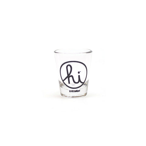 IN4MATION - HI SHOT GLASS