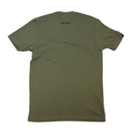 HI SCRIPT TEE (MILITARY GREEN/BLACK)
