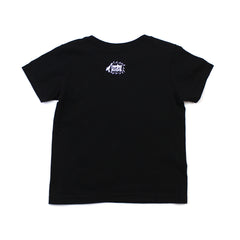 IN4MKIDS - HI SCRIPT KIDS TEE (BLACK/WHITE)