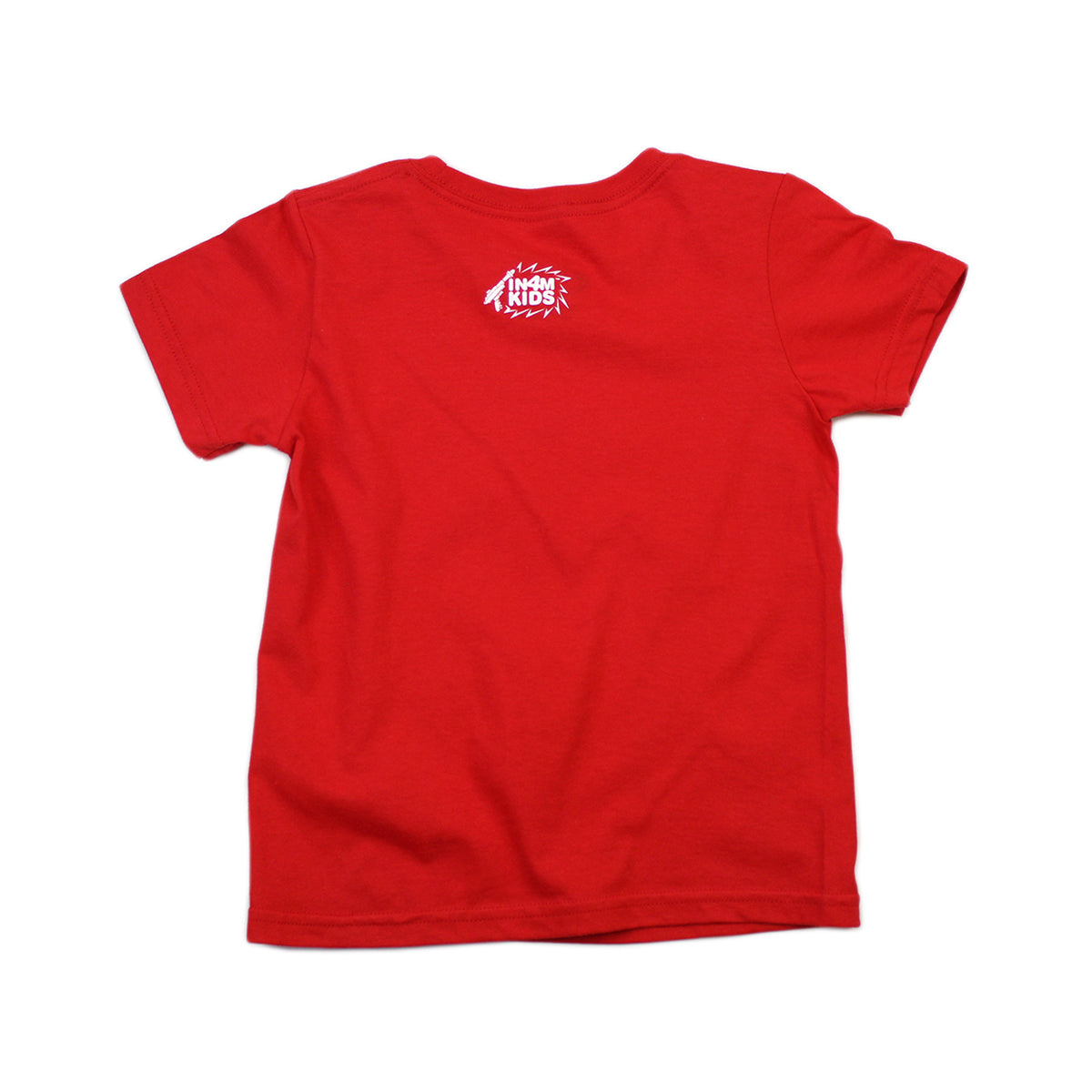 IN4MKIDS - HI SCRIPT KIDS TEE (RED/WHT)