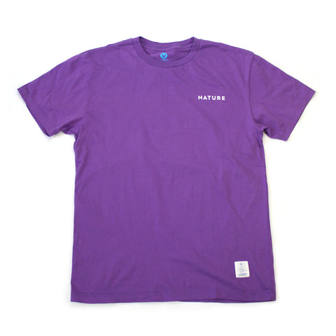VAST-VS NATURE TEE (PURPLE)