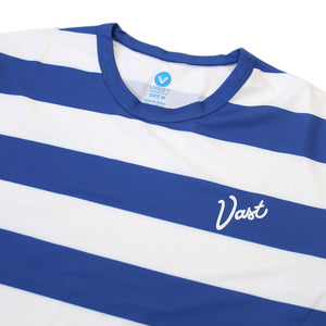 VAST - VS STRIPPED SURF TEE(RYL/WHT)