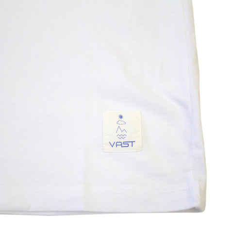 VAST-VS TROPICAL TRIBE TEE (WHT)