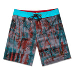 ISLAND TEXTURE (RED MULTI) - SURFSHORTS