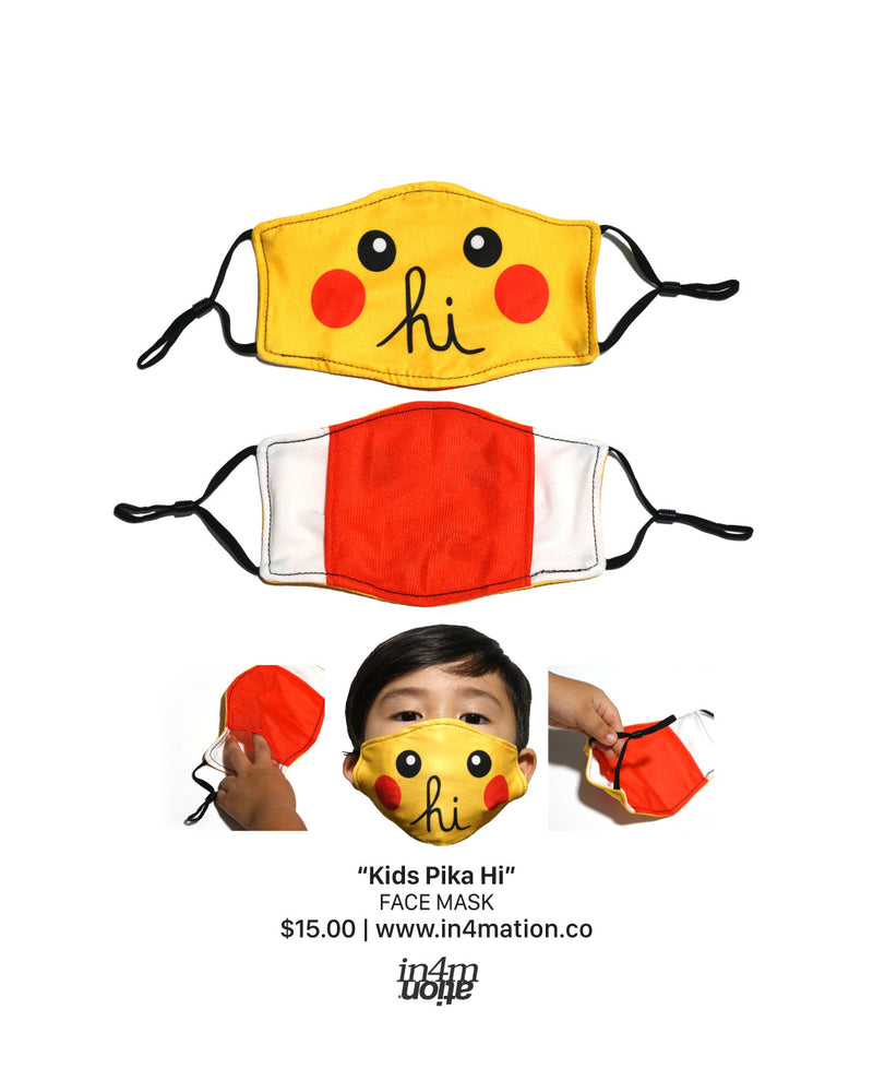 KIDS HI PIKA MASK