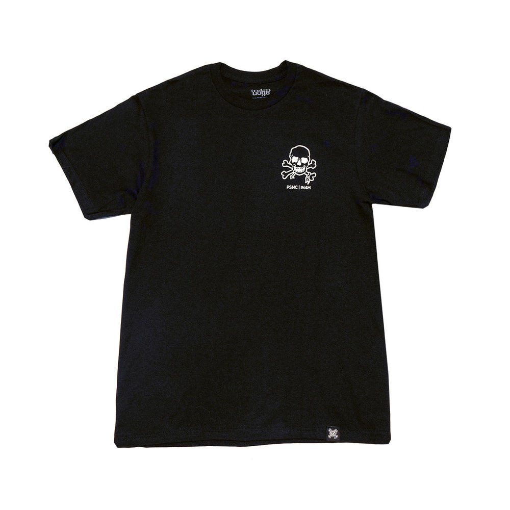 POISON CONTROL - KNOCK BACK CO TEE (BLACK)
