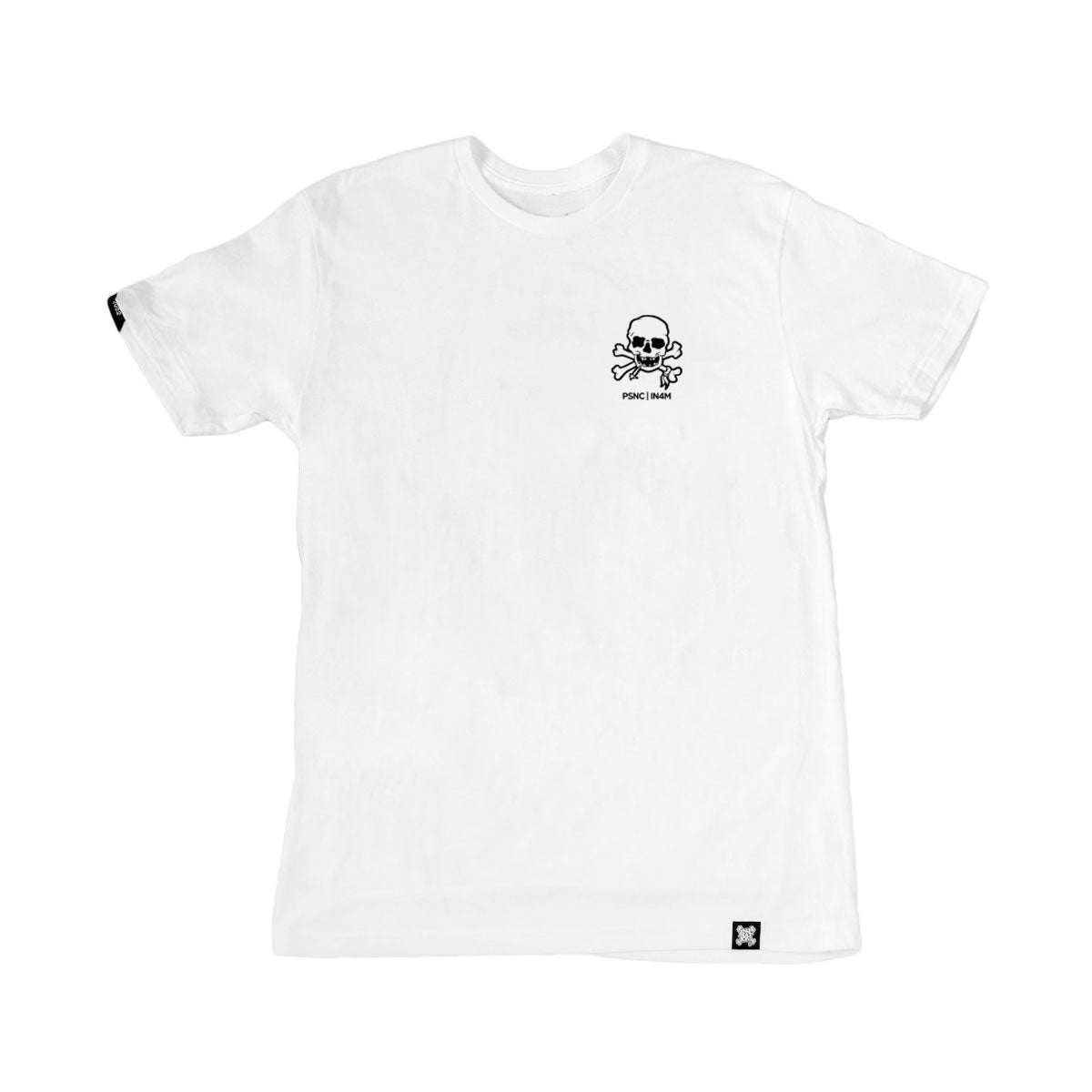 POISON CONTROL - KNOCK BACK CO TEE (WHITE)