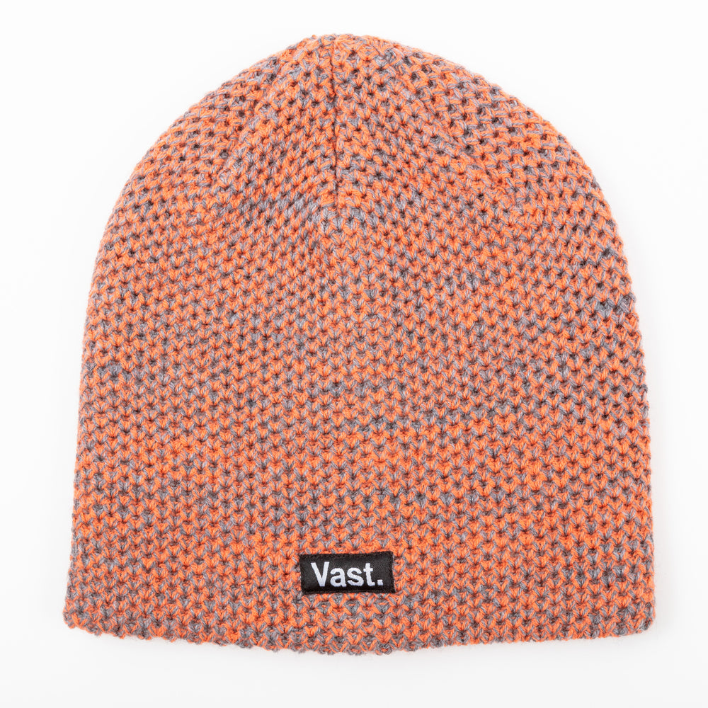 SPECKLED BEANIE (ORANGE)