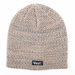 VAST - SPECKLED BEANIE (ALMOND)