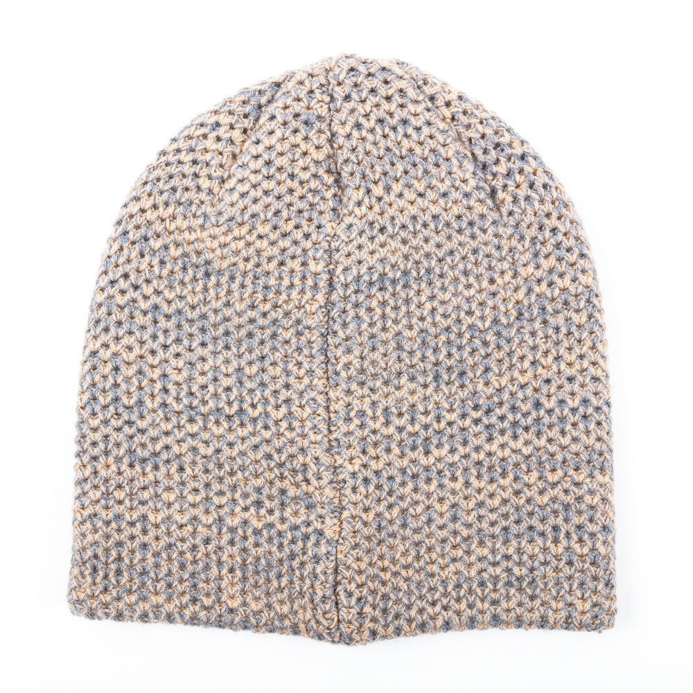 SPECKLED BEANIE (ALMOND)