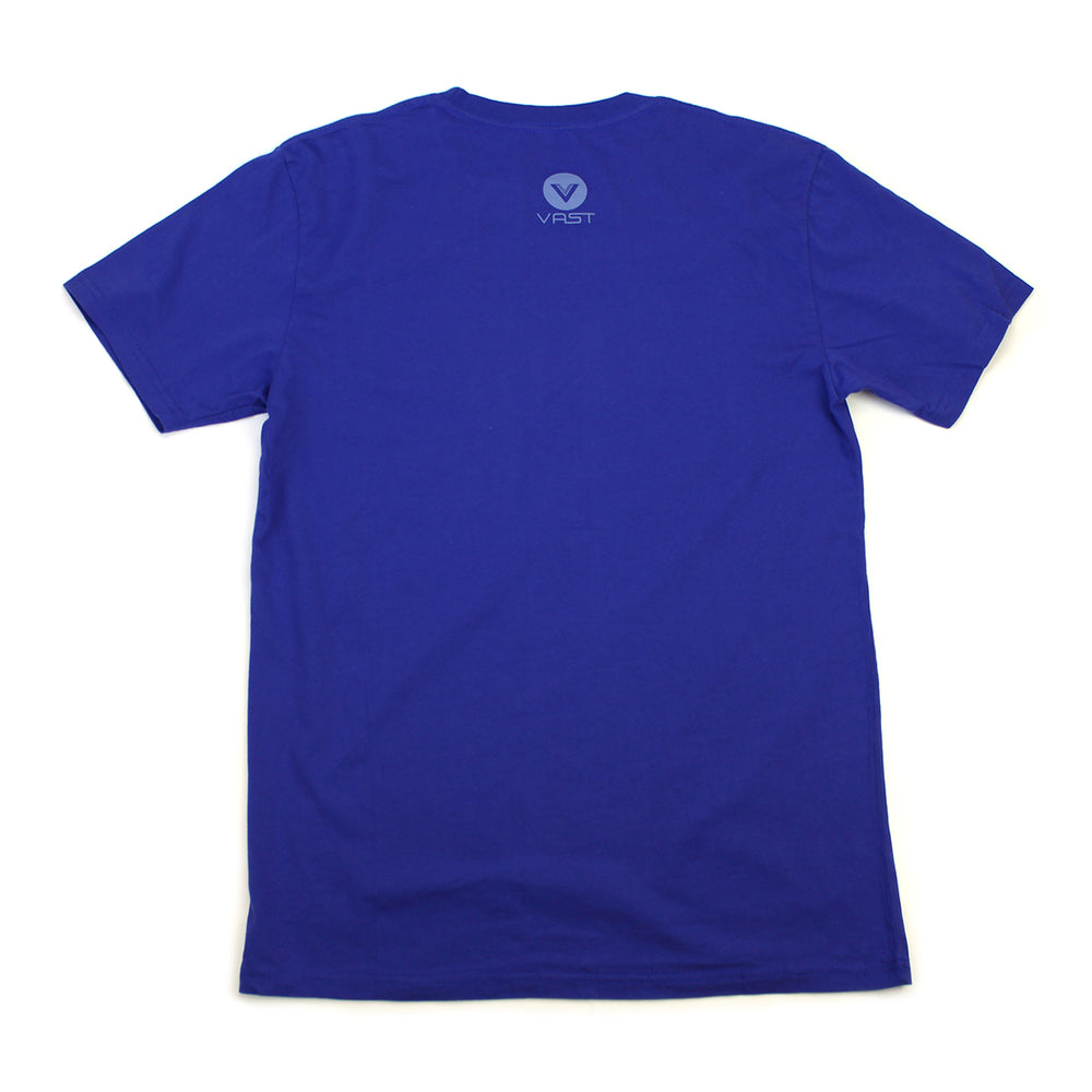 MYSTIC LOGO TEE (ROYAL)