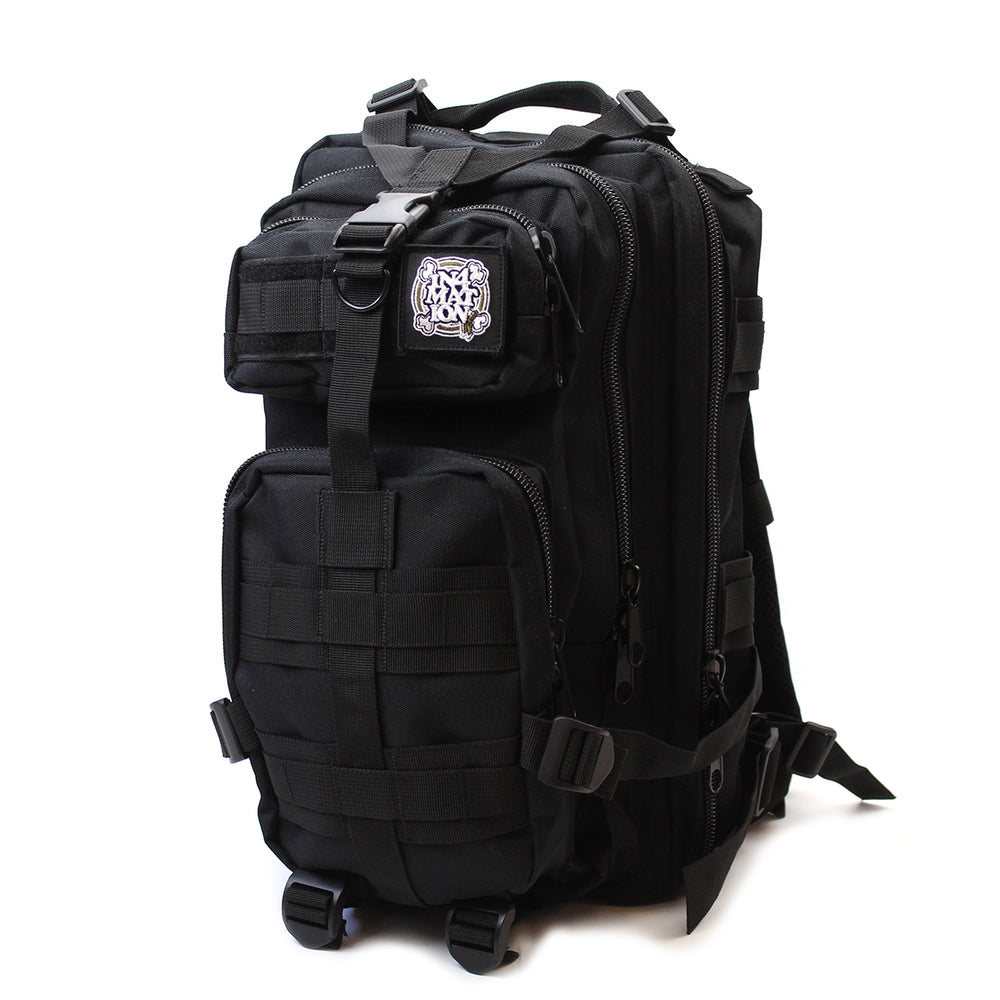 MEDIUM TACTICAL BACKPACK (BLK)