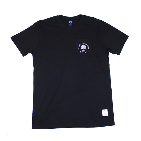 VAST - NATURE STAMP TEE (BLK)