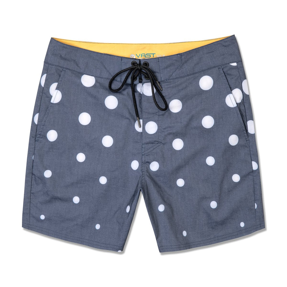 POLKA DOTS (NAVY) - SURFSHORTS