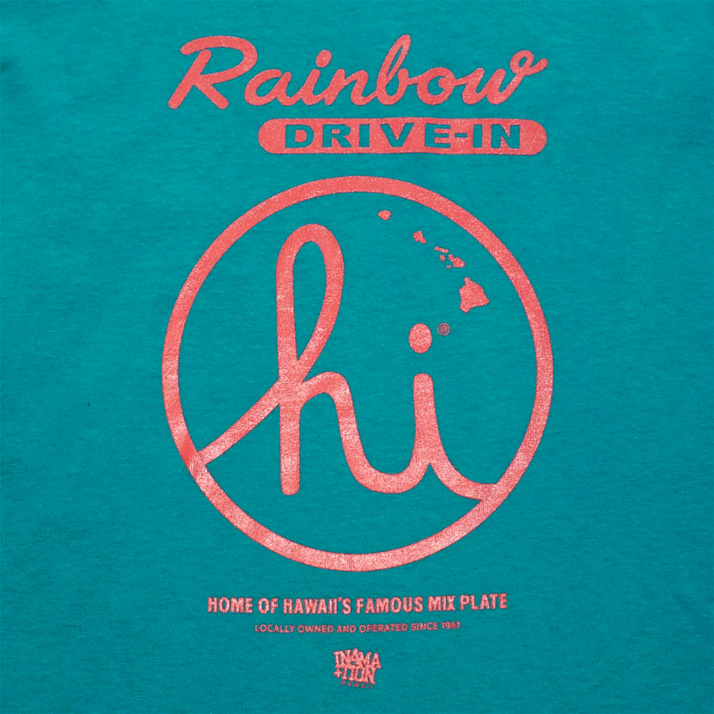 IN4MATION X RAINBOW DRIVE IN FAMOUS MIX PLATE KIDS TEE