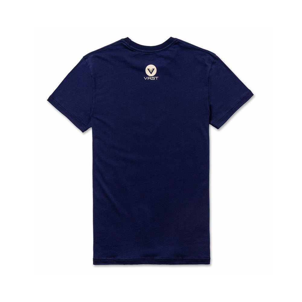 GRADIENT FRONT TEE (BLUEBERRY)