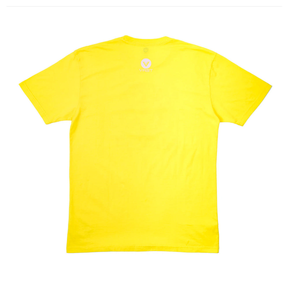 VAST - HIBISCUS FOLIAGE TEE (YELLOW)