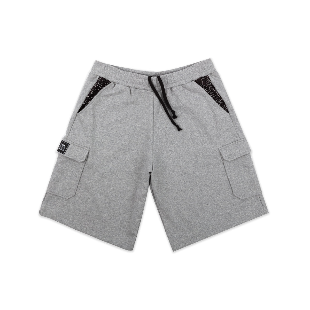 VAST - IN4MATION X VAST CARGO SWEAT SHORT (GREY)