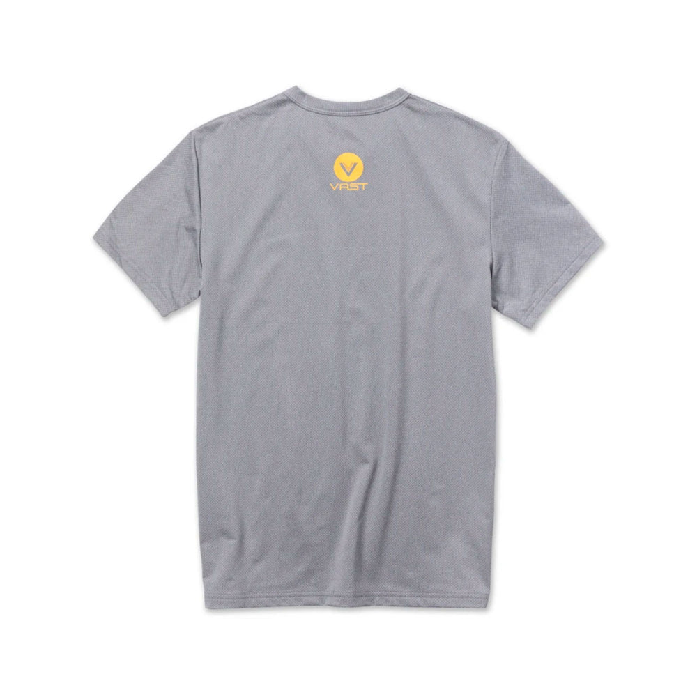 VAST - WHERE SURFING LIVES LOGO SURF TEE (GREY)
